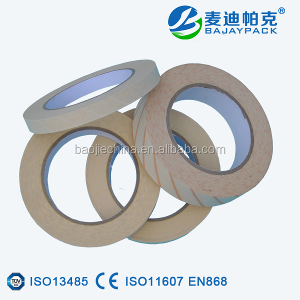 Chemical sterilization indicator disposable autoclave tape for hospital