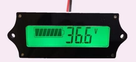 12V 24V 36V 48V lithium battery charge display board