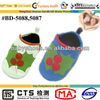 CHRISTMAS FRUITS sheep leather soft sole baby shoe