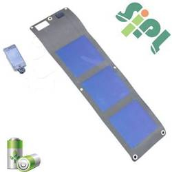 Flexible Foldable Waterproof Mobile Solar Charger Foldable Solar Panel