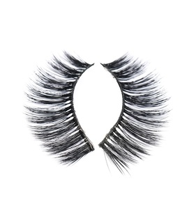 Beauty Thick Cross Voluminous Messy Eye Lashes Makeup 3d silk eyelashes