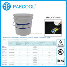 PAKCOOL thermally conducitity silicon sealant glue encapsulant with solar usage