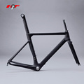 2017 hot sale carbon road bike frame UD matte finish, China road bicycle carbon aero frame