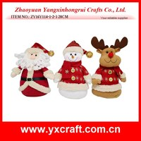 Christmas decoration (ZY16Y114-1-2-3 28CM) christmas decor, santa snowman reindeer gift ornament decoration, christmas design
