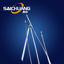 Metal ball self-locking cable tie stainless steel binding strap stainless steel strap
