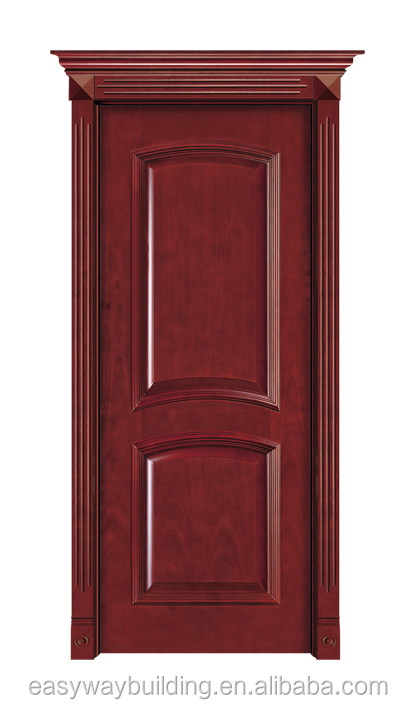 High Quality Luxury Natural China Teak carving modern wood door designs