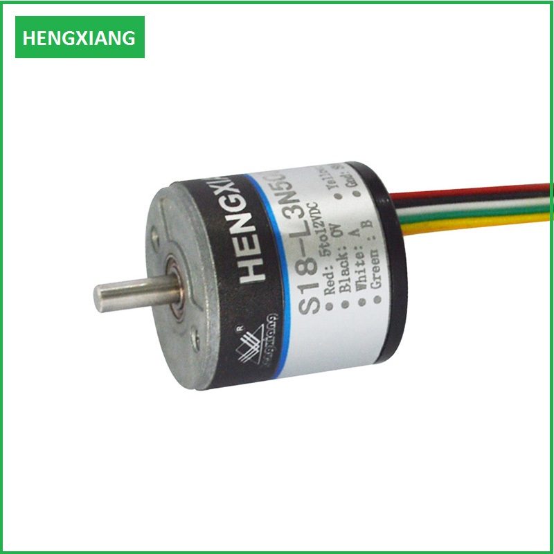 K50 5000ppr optical encoder counter hollow shaft encoider position sensor