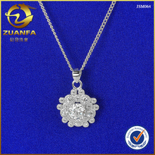 wholesale Italy diamond micro pave high quality crystal cz pendant jewelry