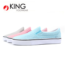 Fashion Design textile Upper Ladies Dress Shoes Low Cut Women Shoes