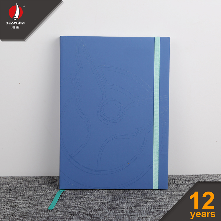 hard cover color A5 A6 elastic recycled paper note book notebook Diary