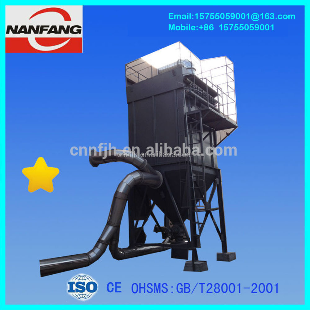 Low Cost Machinery DMC120-II Baghouse Filter Fabric Type Dust Collector Dust Flour Filter
