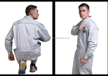 uniform design top qualit men cotton protective basic working hot selling professional free sample oem servie plain coverall