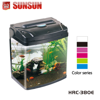 Sunsun acrylic glass nano koi view aquarium round fish for Koi tanks for sale