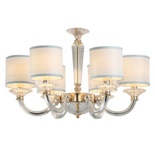Wholesale price light fancy modern unique pendant light crystal chandelier