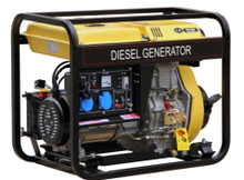 6kw 3 phase gasoline generator with good quality