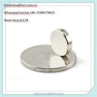 N50 Grade Rare Strong Round Magnet 12x3mm Rare Earth Neodymium Magnets for package