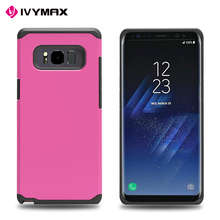 Phone cases back cover for samsung galaxy note 8 2 in 1 2017