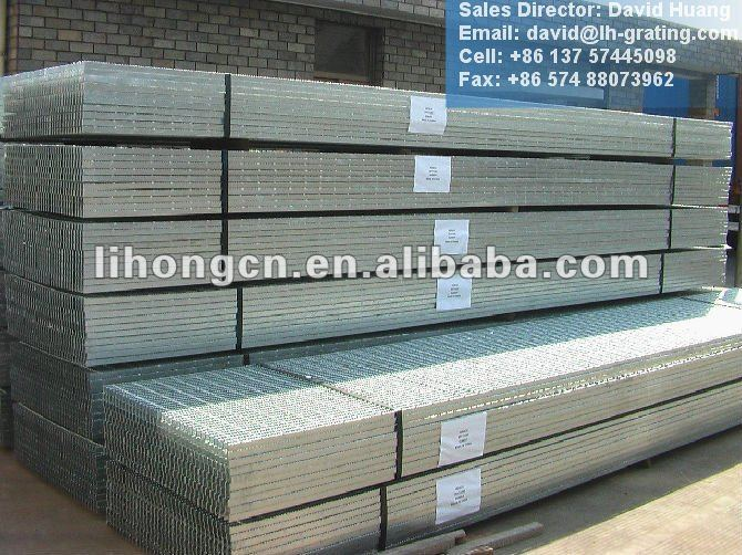 galvanized steel grating floor standard size