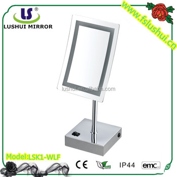 factory supply high quality table makeup lighting mirror