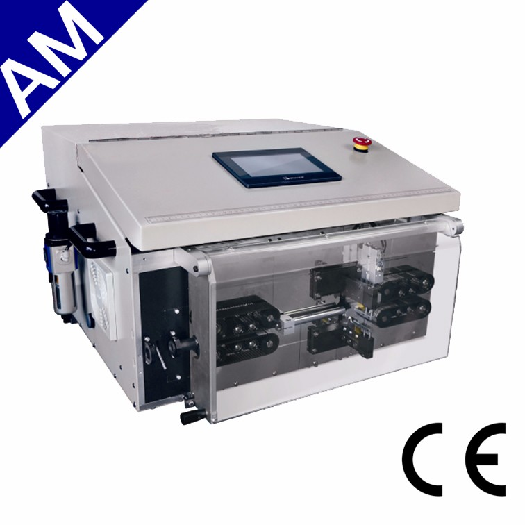 AM610 Round Jacket Cable Cutting machine Stripping outer and inner cable