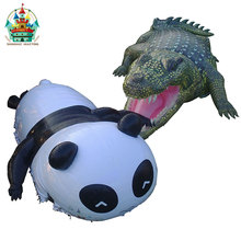 giant advertising / party / show inflatable panda and crocodile tent