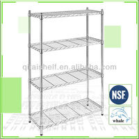 Adjustable closet wire shelving
