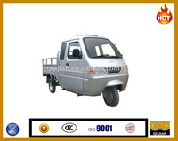 Promotional 200/250cc heavy duty three wheelers/cargo tricycle with cabin
