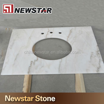 Precut hard quality white marble and countertop price