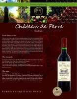 FRENCH RED BORDEAUX WINE
