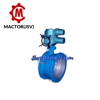 Expansion Joint Butterfly Valve With Electric Actuator