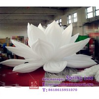 party stage decoration gaint inflatable lotus