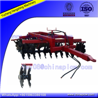 High quality trailed hydraulic heavy duty disc harrow for sale