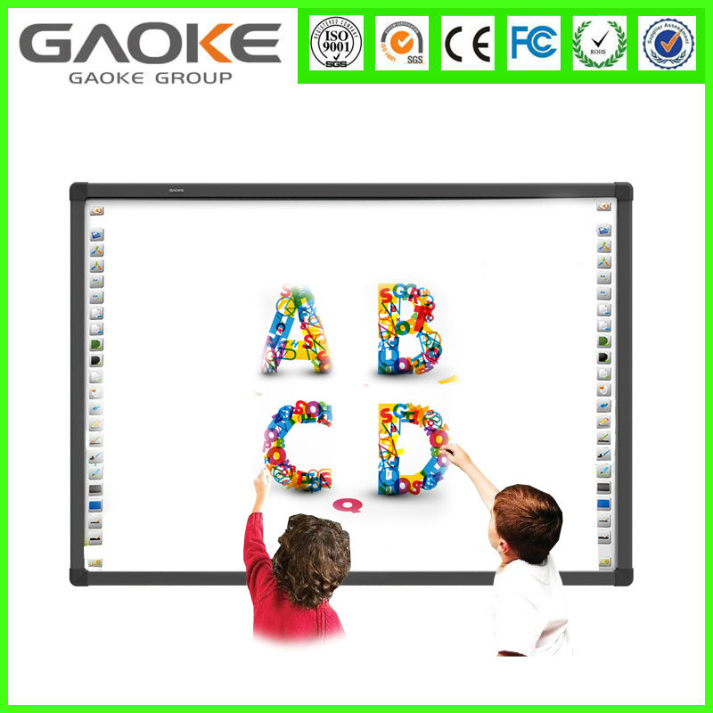 interactive ir IWB four user smart board for office