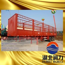 China High Quality 3 Axle Heavy Duty Transport Semi Trailers Manufacturers