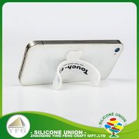 Safety soft no deformation touch u stick mobile phone stand