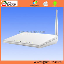 OEM factory 150Mbps ADSL 2+ wireless router with switch firewall function
