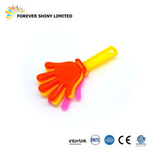 Promotion Novelty Small Capsules Egg Noise Maker Toys Plastic Cheering Hand Clapper for Vending Machines