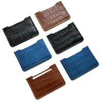 Classic design wallet crocodile leather credit holder men's and women's leather wallet