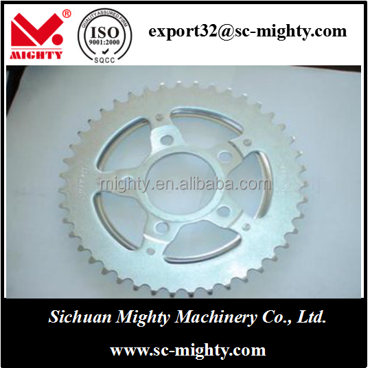 Chinese Customized Size Motorcycle Chain Sprocket
