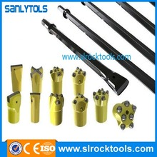 tapered tools cross type rock drill bits
