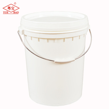 Food storage barrel food grade plastic pail custom printed buckets for wholesales