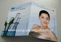 custom mini flyer smile face, manufacture full color flyer printing