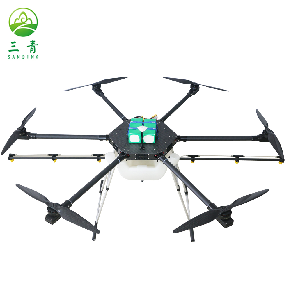 Foldable wing uav drone crop sprayer for agriculture