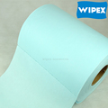 High quality cross lapping disposable spunlace non woven cellulose roll