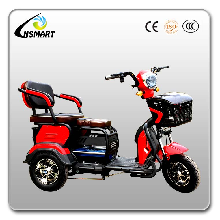 Hot sale electric 3 wheel bicycle for adults