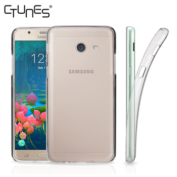 For Galaxy J5 2017 Case, Crystal Clear Flexible TPU Gel Rubber Soft Skin Protective Cover For Samsung Galaxy J5 2017