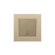 Top sale excellent quality K6016 PC 1 gang electric door bell switch for sale