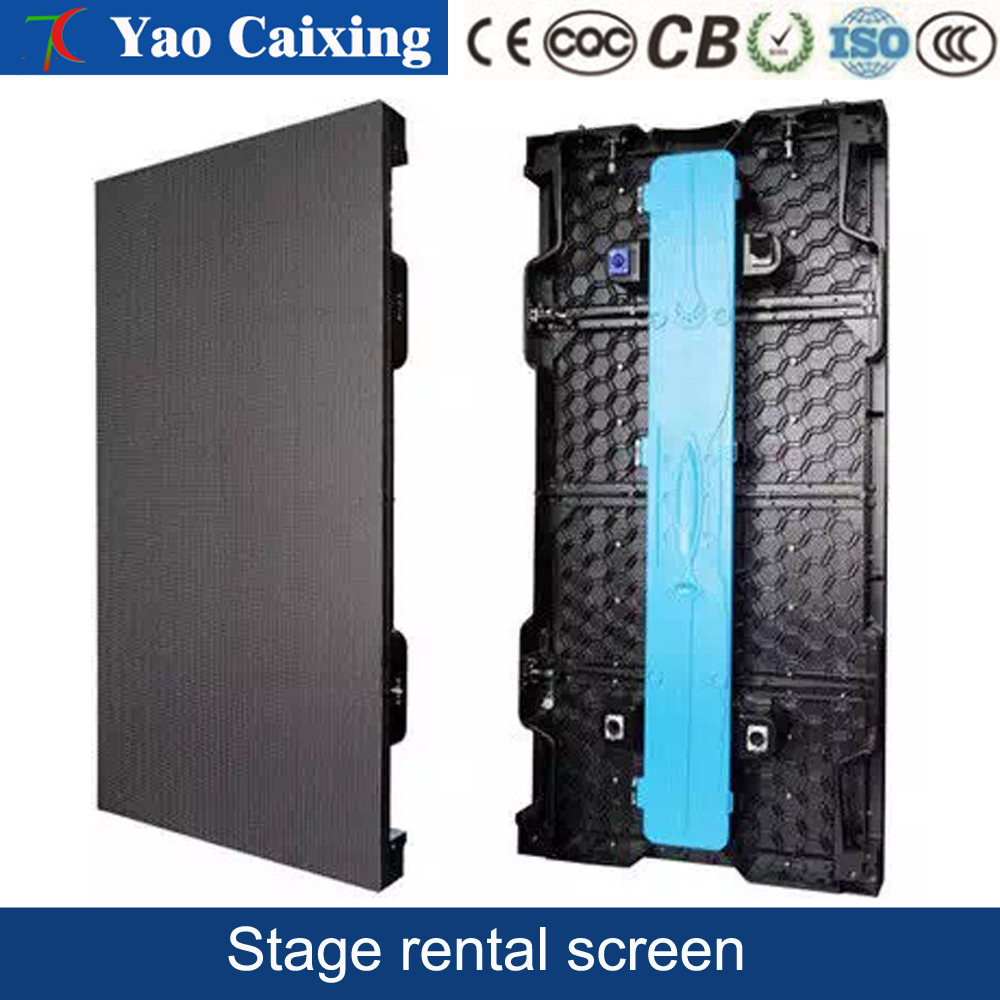 500mm*1000mm full-color display outdoor screen The stage outdoor full-color display lease P3.91