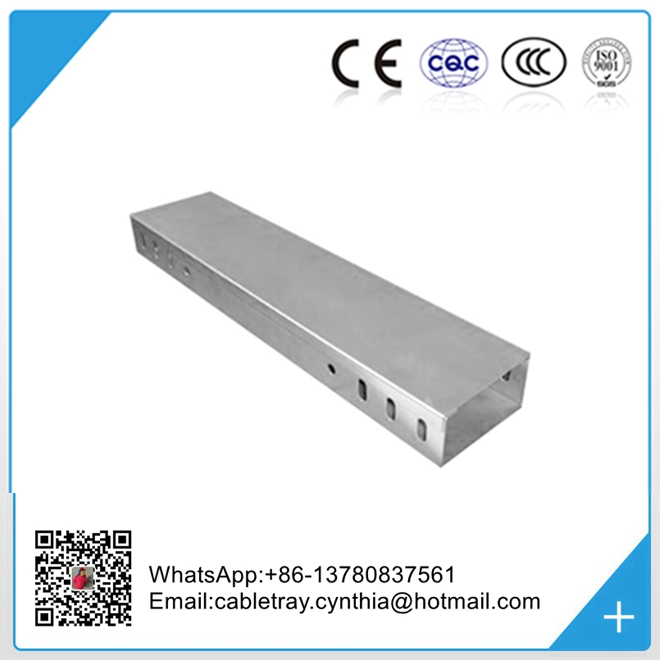 customized size and surface finish steel cable tray cable trunking manufacturer