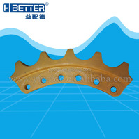 heavy duty R 215 excavators and sprocket, good quality berco sprocket made in china